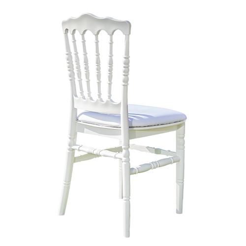 Chaise Napoléon 3 blanche